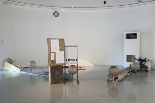 Installation View in Seoul